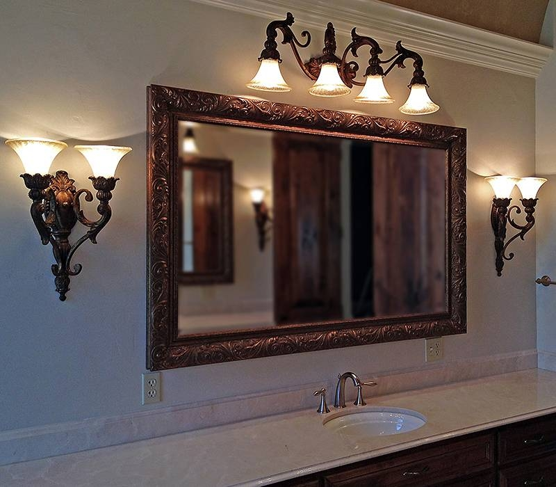 Interesting Large Wood Framed Wall Mirrors 69 For Home Decorating Intended For Large Framed Bathroom Wall Mirrors (#12 of 15)
