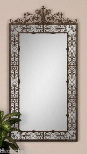 Iron Scroll Wall Art – Foter With Iron Wall Mirrors (#9 of 15)