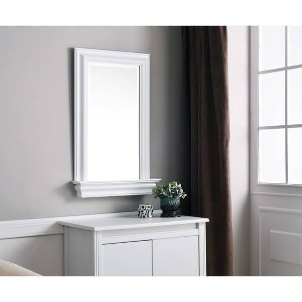 Jules Wall Mirror – Free Shipping Today – Overstock – 13065727 Regarding Wall Mirrors With Drawers (#8 of 15)