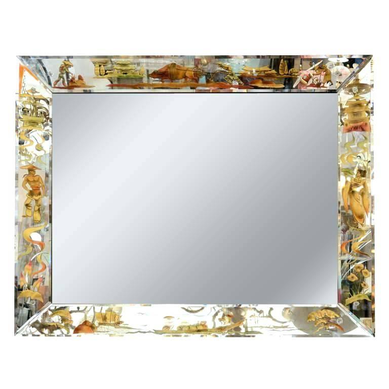 Karadi Silver Rectangular Mirror 4 Sizes Large Decorative With Regard To Decorative Rectangular Wall Mirrors (#7 of 15)