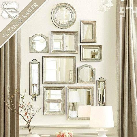Kasler Gallery Wall Mirrors In Silver Inside Gallery Wall Mirrors (#11 of 15)