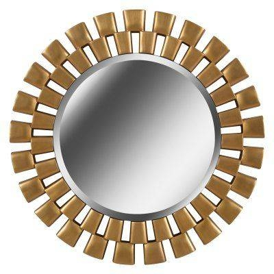 Kenroy Home Gilbert Wall Mirror – 60019Gld | Products With Gilbert Wall Mirrors (#7 of 15)