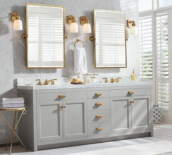 Popular Photo of Pivot Mirrors For Bathroom