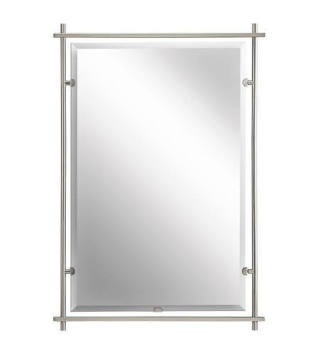 Kichler 41096ni Eileen 39 X 27 Inch Brushed Nickel Wall Mirror For Brushed Nickel Wall Mirrors (View 8 of 15)