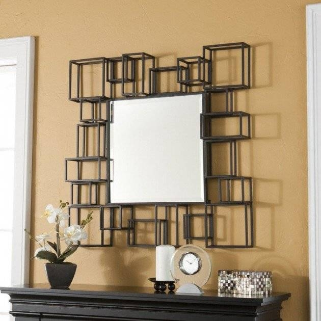 Large Apricena Decorative Gold Wall Mirror Xl  (#8 of 15)