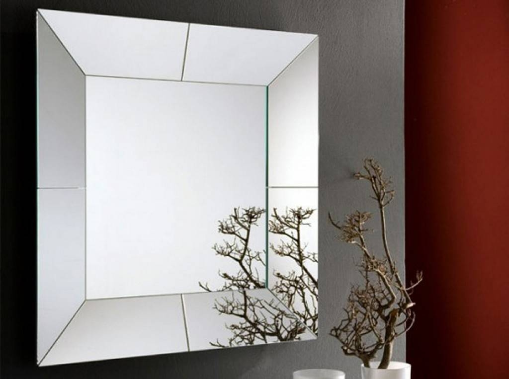 Large Contemporary Wall Mirrors : Contemporary Wall Mirrors Decor With Trendy Wall Mirrors (#7 of 15)
