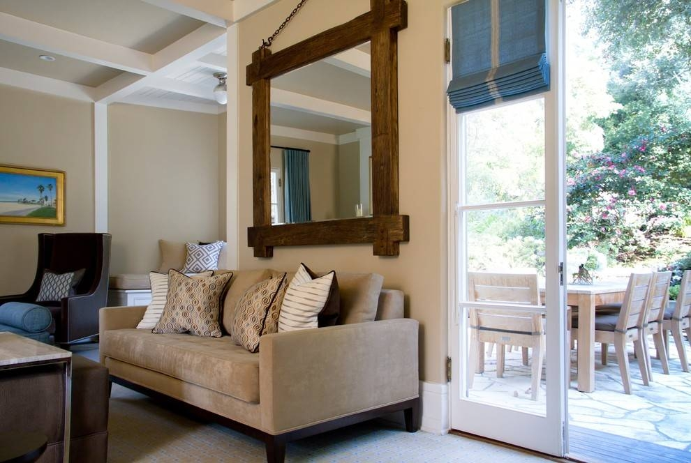Inspiration about Large Decorative Mirrors For Living Room — Unique Hardscape Design With Large Living Room Wall Mirrors (#7 of 15)