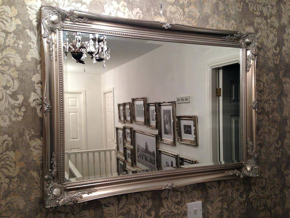 Large Elegant Wall Mirrors Full Size Of Uncategorizedbig White With Large Elegant Wall Mirrors (#6 of 15)