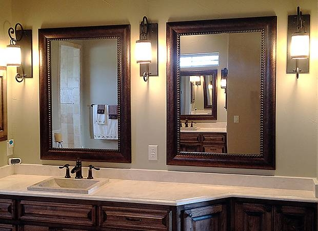 Large Framed Bathroom Wall Mirrors Inside Large Framed Bathroom Wall Mirrors (#13 of 15)