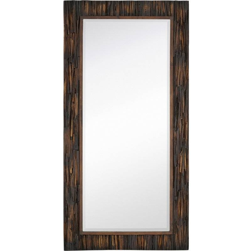 Large Framed Mirror | Wayfair With Regard To Beech Wood Framed Mirrors (#9 of 15)