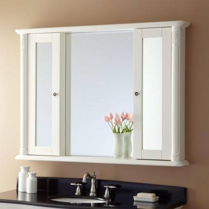 Large Medicine Cabinet Mirror Bathroom | Home Decoration Ideas Within Bathroom Medicine Cabinets With Mirrors (#9 of 15)