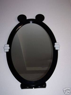 Large Mickey Mouse Shaped Disney Wall Mirror | #40652284 With Regard To Disney Wall Mirrors (#7 of 15)