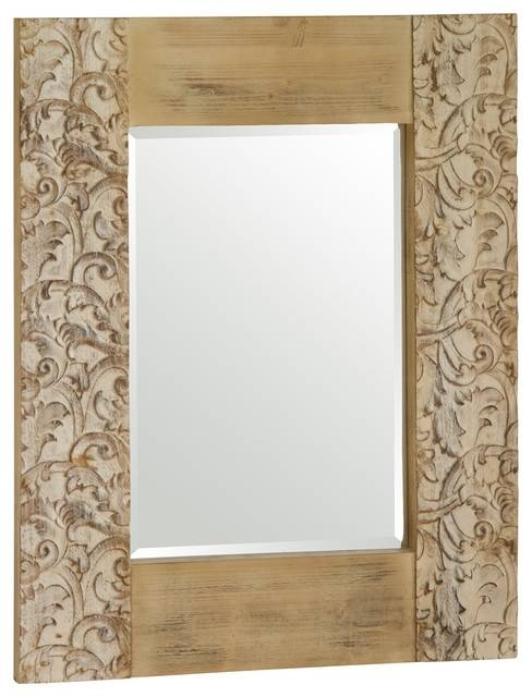 Large Mirror No Frame Oriental Wall Mirrors Asian Inspired Wall Regarding Asian Inspired Wall Mirrors (View 12 of 15)