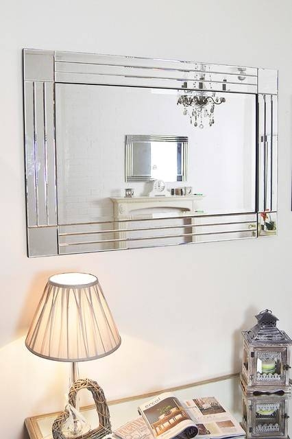 Popular Photo of Large Modern Wall Mirrors
