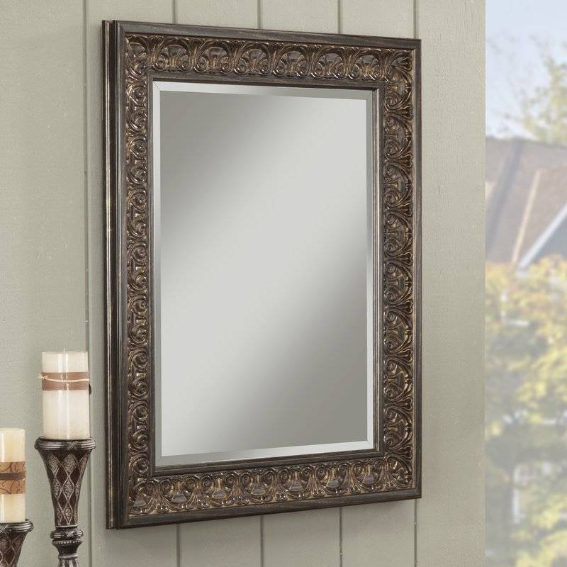 Large & Oversized Wall Mirrors You'll Love | Wayfair In Long Rectangular Wall Mirrors (#9 of 15)