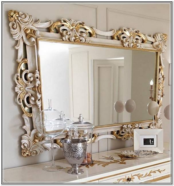Large Vintage Wall Mirrors | Home Design Ideas With Large Vintage Wall Mirrors (#14 of 15)