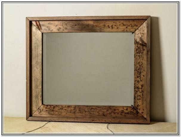 Large Wall Mirror Wood Frame | Home Design Ideas Throughout Large Wall Mirrors With Wood Frame (View 5 of 15)