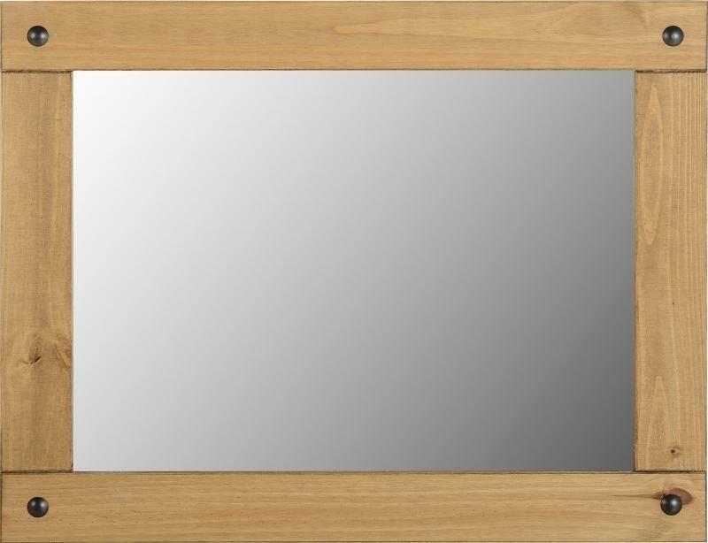 Popular Photo of Pine Wall Mirrors