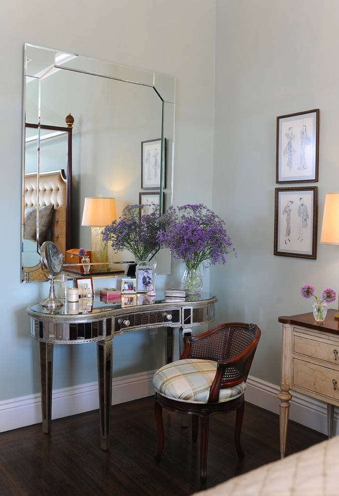 Large Wall Mirrors Bedroom Traditional With Baseboards Beveled Inside Large Beveled Wall Mirrors (View 8 of 15)