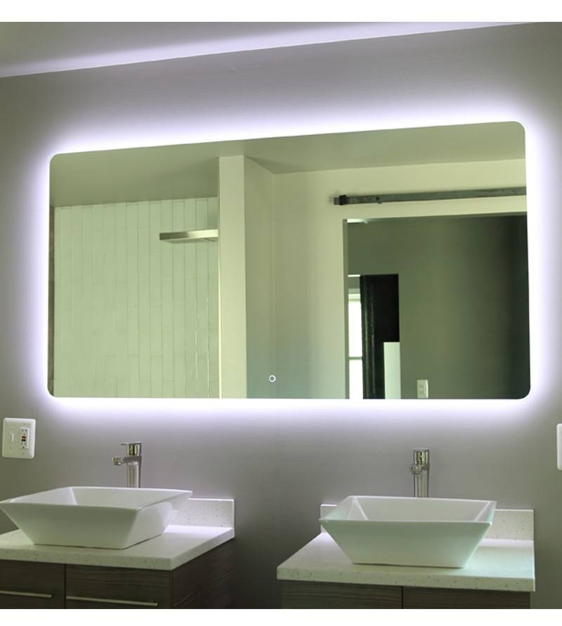 Popular Photo of Led Illuminated Bathroom Mirrors