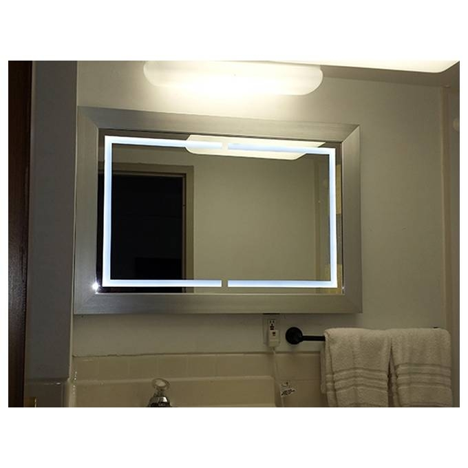 Led Lighted Mirror Style 200 – Artforhotel Inside Led Lighted Mirrors (#8 of 15)