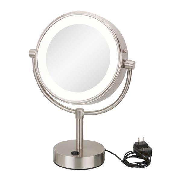 Led Lighted Vanity Mirrorsaptations/kimball & Young Within Magnified Vanity Mirrors (#10 of 15)