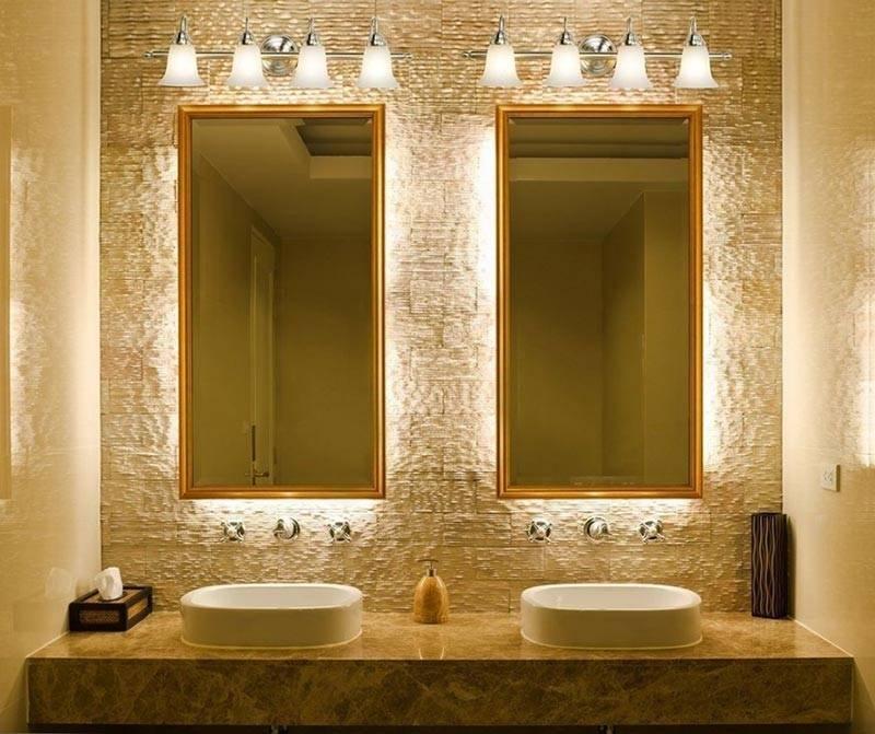 Light Fixtures Bathroom Mirror : Choosing Light Fixtures Bathroom For Bathroom Lighting And Mirrors (#9 of 15)
