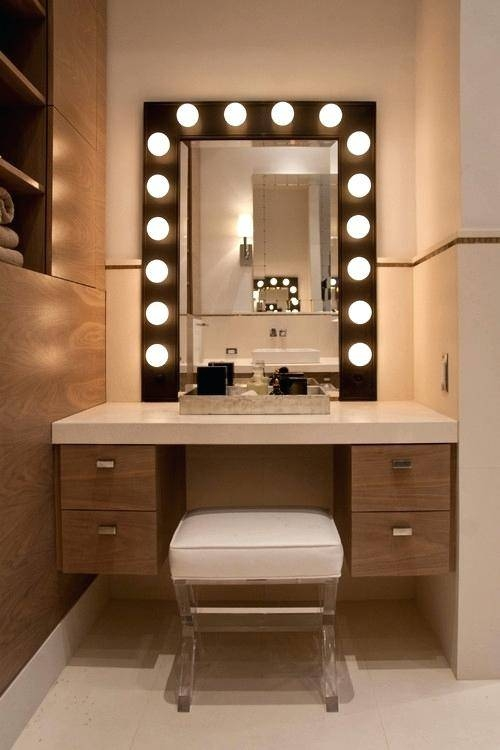 Light Up Bathroom Mirrors – Justbeingmyself With Light Up Bathroom Mirrors (#12 of 15)