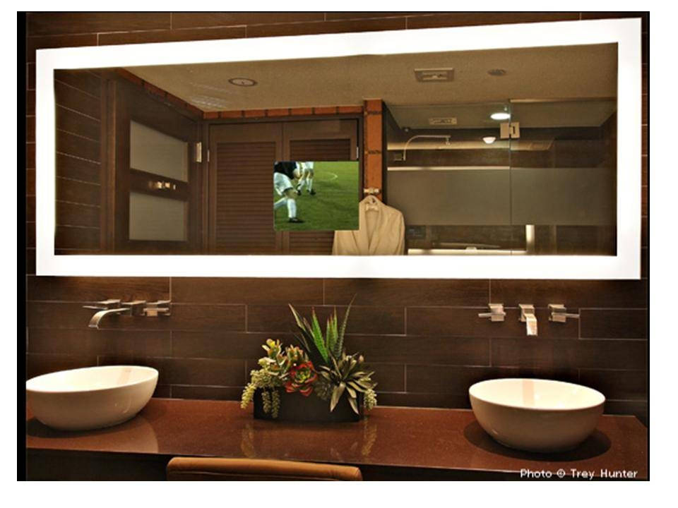 Lighted Bathroom Wall Mirror | Pcd Homes Lighted Mirrors Bathroom Throughout Lighted Bathroom Wall Mirrors (#9 of 15)