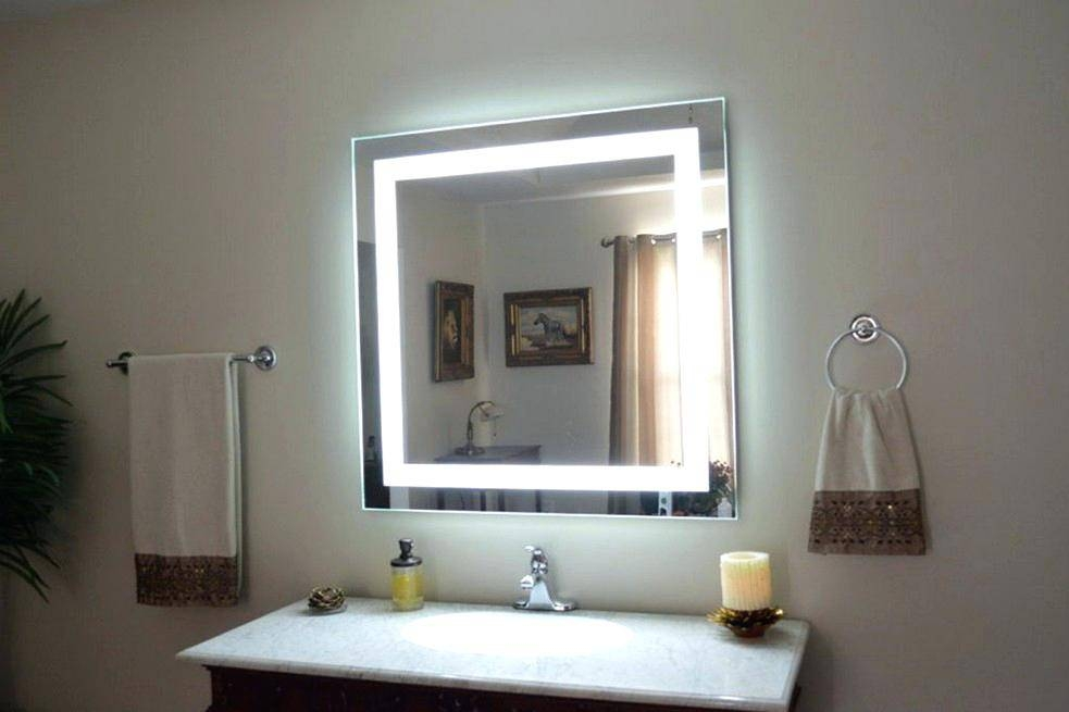 Lighted Vanity Makeup Mirror Benefits With Regard To Best 25 Ideas For Bathroom Lighted Vanity Mirrors (#12 of 15)