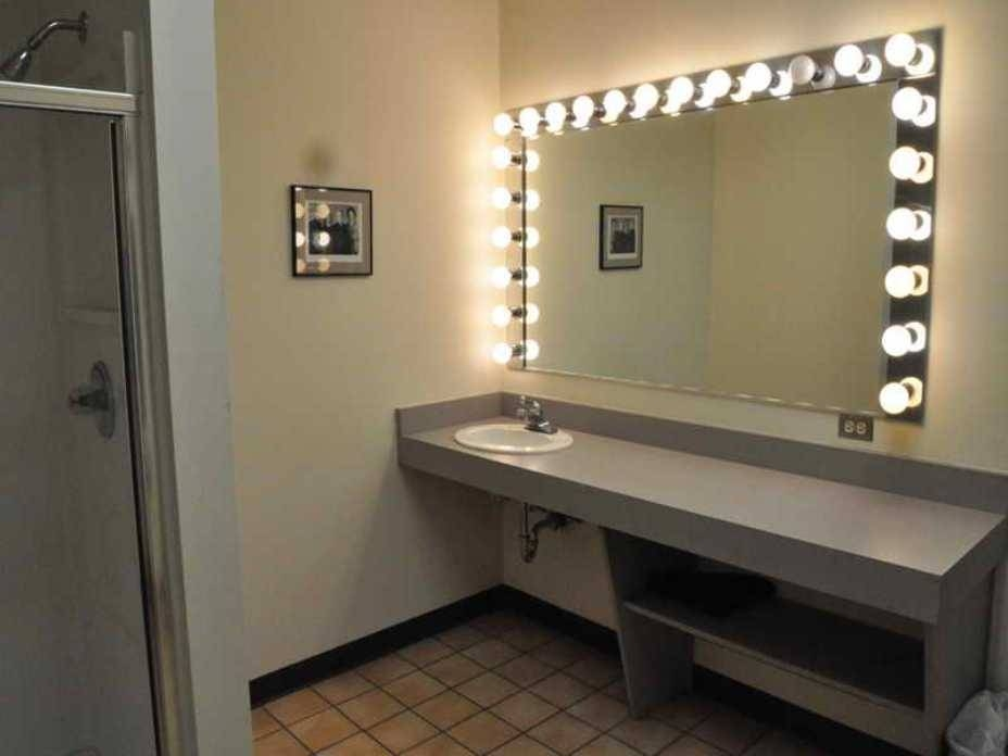 Lighted Vanity Mirror Wall Mount Ideas — The Homy Design Within Lighted Vanity Mirrors For Bathroom (#7 of 15)