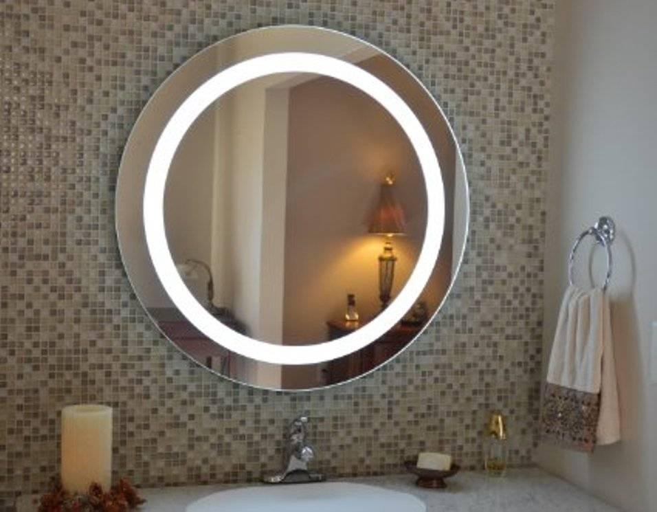 Lighted Vanity Wall Mirror Reviews Inside Lighted Vanity Wall Mirrors (#6 of 15)