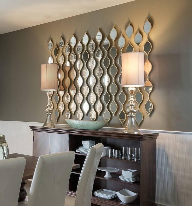 Living Room Decor Ideas: 50 Extravagant Wall Mirrors   Home Decor For Decorative Living Room Wall Mirrors (#8 of 15)