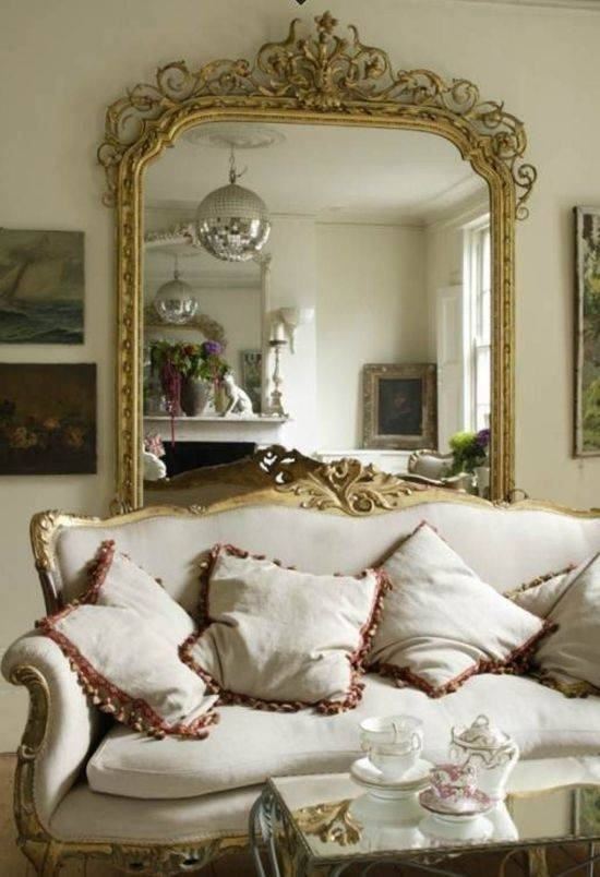 Living Room Decorating Ideas With Mirrors | Ultimate Home Ideas Inside Large Elegant Wall Mirrors (#9 of 15)