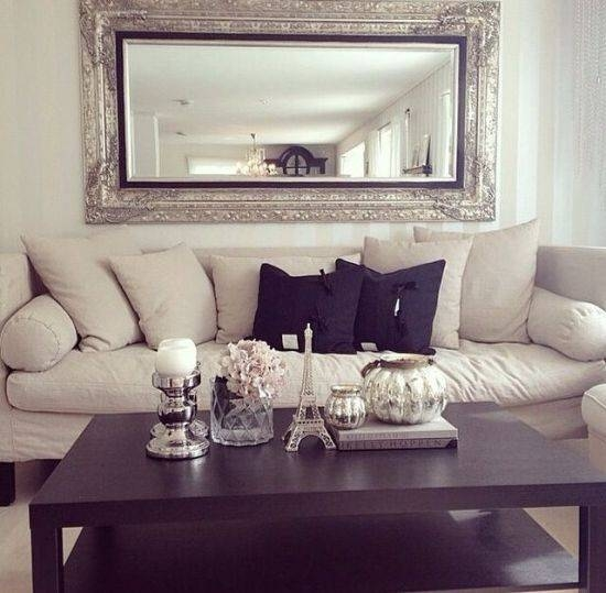 Popular Photo of Decorative Wall Mirrors For Living Room