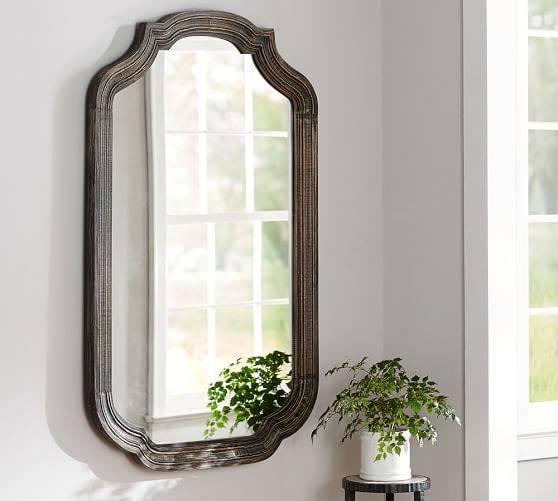 Loire Wall Mirror | Pottery Barn Pertaining To Pottery Barn Wall Mirrors (#9 of 15)
