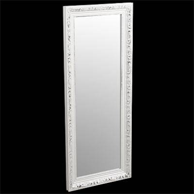Popular Photo of White Long Wall Mirrors