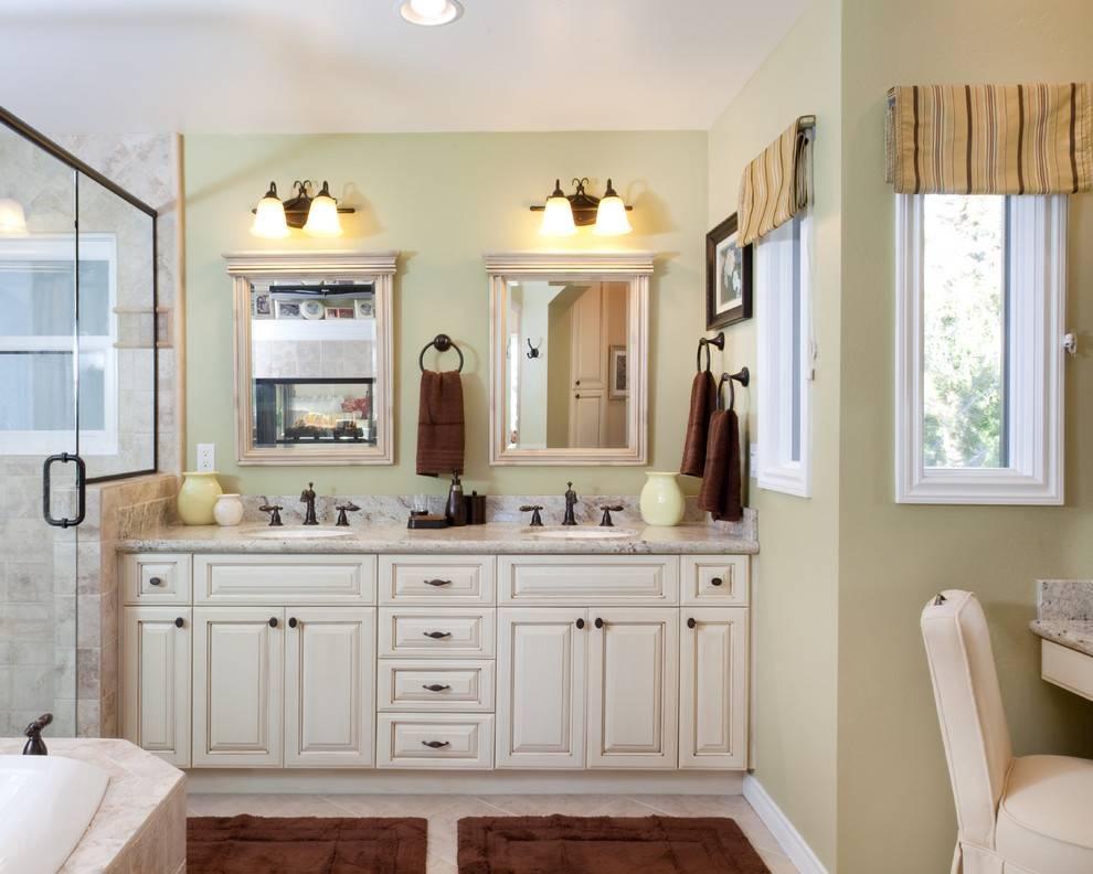 Luxury Double Vanity Bathroom Mirrors Ultimate Bathroom Design Within Double Vanity Bathroom Mirrors (#12 of 15)