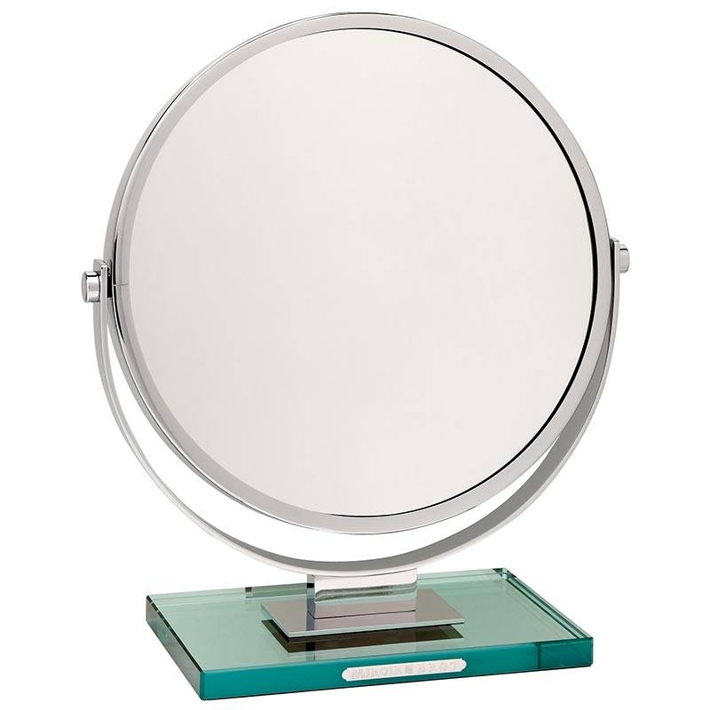 Luxury Magnifying Vanity Mirrors In Magnified Vanity Mirrors (#12 of 15)