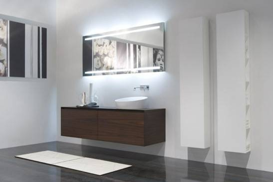 Luxury Modern Bathroom Mirrors With Lights Amazing Designer 39 For Regarding Modern Mirrors For Bathrooms (View 12 of 15)