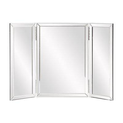 Majestic Design Ideas Tri Fold Bathroom Wall Mirror Tyler Dillon With Regard To Tri Fold Bathroom Wall Mirrors (#9 of 15)