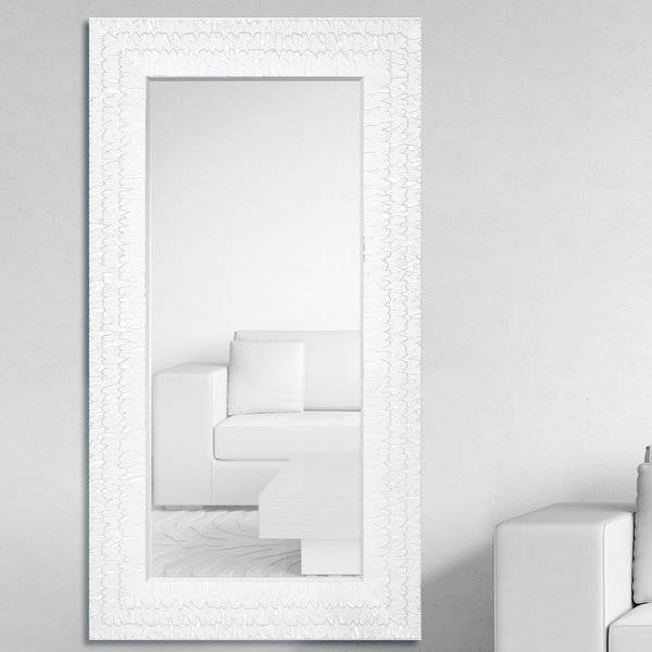 Majestic Mirror Oversized Rectangular Framed Beveled Glass Wall Regarding Glass Wall Mirrors (#7 of 15)