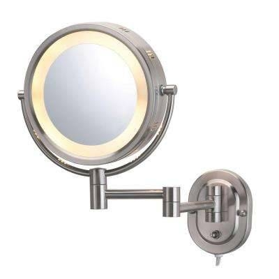 Makeup Mirrors – Bathroom Mirrors – The Home Depot For Magnifying Wall Mirrors (#9 of 15)