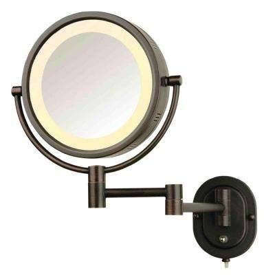 Makeup Mirrors – Bathroom Mirrors – The Home Depot Pertaining To Wall Mounted Lighted Makeup Mirrors (#8 of 15)