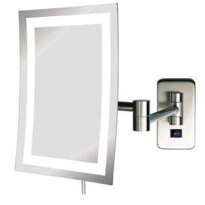 Makeup Mirrors – Bathroom Mirrors – The Home Depot With Wall Mounted Lighted Makeup Mirrors (#9 of 15)