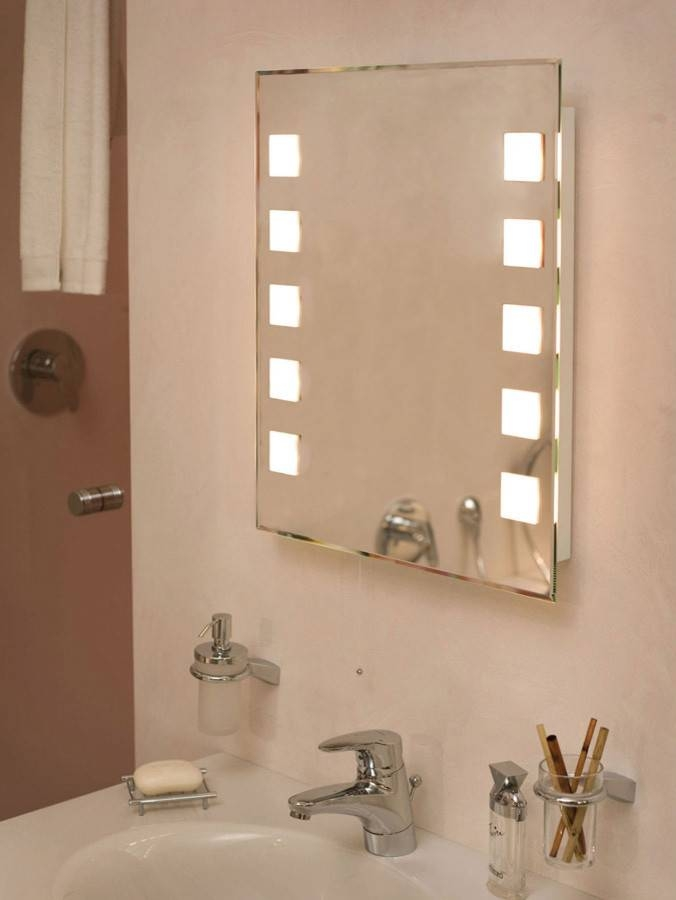 Marvelous Lighted Vanity Mirror Innovative Designs For Traditional In Lighted Vanity Mirrors For Bathroom (#10 of 15)