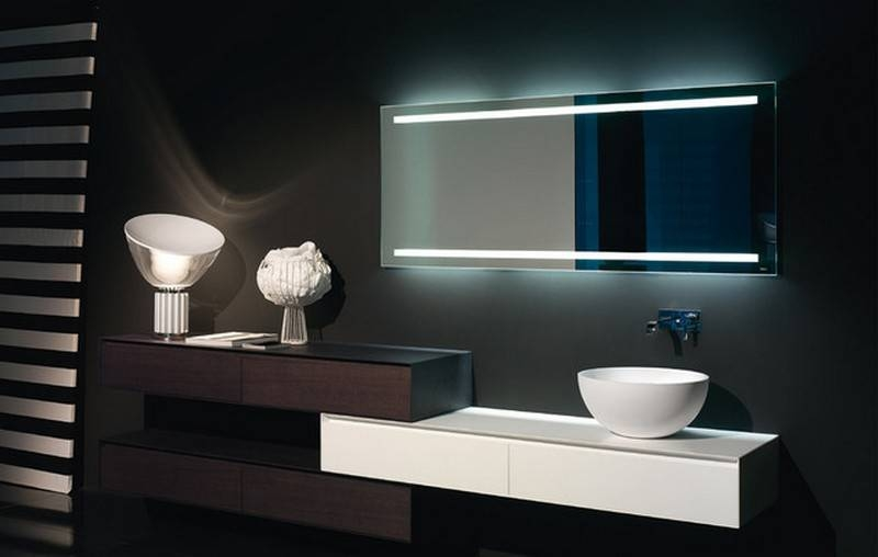 Marvelous Modern Bathroom Mirror Ideas Bathroom Mirrors With For Modern Bath Mirrors (View 6 of 15)
