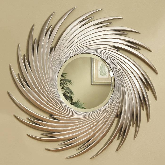 Metal Wall Decor With Mirror The Home Design : Make Your Room Pertaining To Decorative Wall Mirrors (#8 of 15)