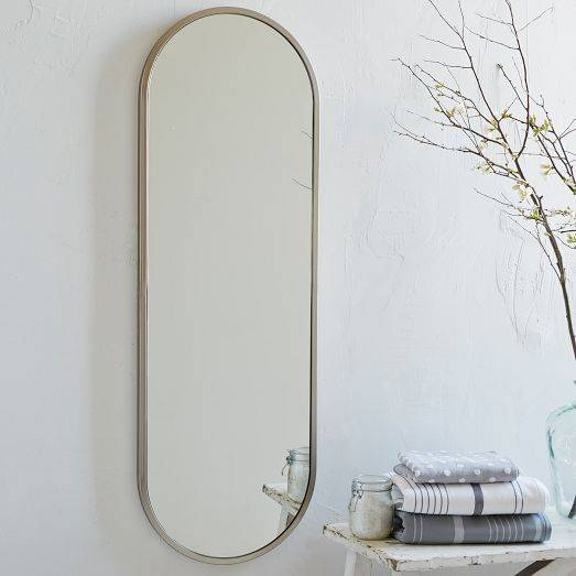 Popular Photo of Full Length Oval Wall Mirrors