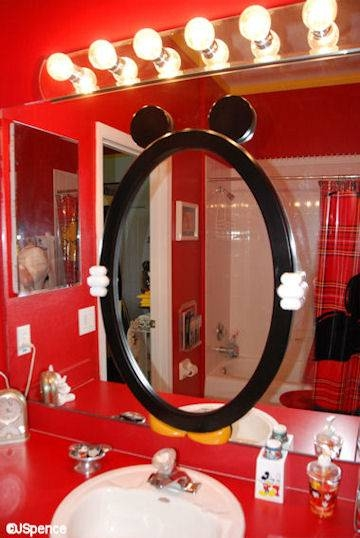 """Mickey Mouse Suite At Laffite's Landing (the """"world"""" According To With Regard To Mickey Mouse Wall Mirrors (View 8 of 15)"""